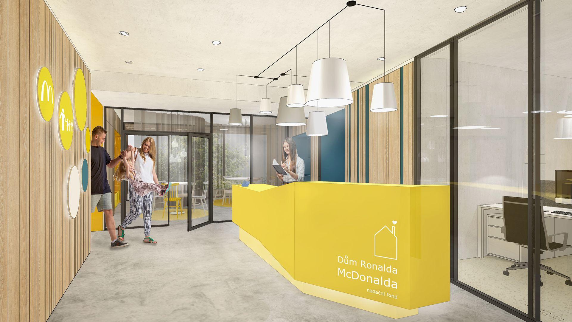 Dům Ronalda McDonalda | Nadační fond Dům Ronalda McDonalda